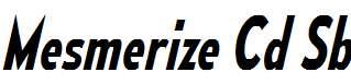 MesmerizeCdSb-Italic