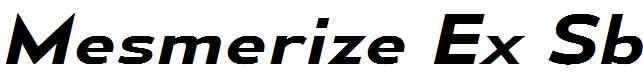 MesmerizeExSb-Italic