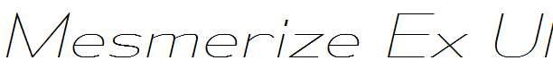 MesmerizeExUl-Italic