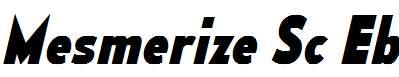 MesmerizeScEb-Italic