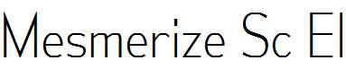 MesmerizeScEl-Regular