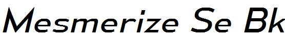 MesmerizeSeBk-Italic