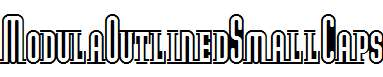 ModulaOutlinedSmallCaps-Regular