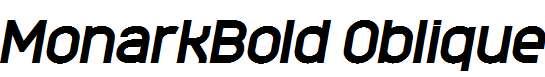 MonarkBold-Oblique