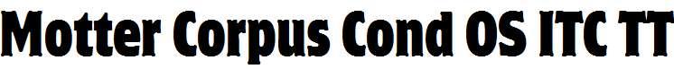 Motter-Corpus-Cond-OS-ITC-TT