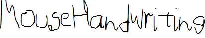 MouseHandwriting
