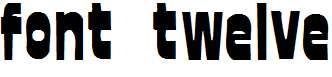 font-twelve