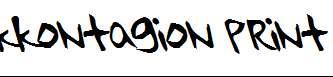 kkontagion-print-Italic