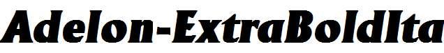 Adelon-ExtraBoldIta
