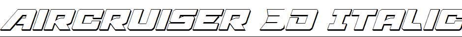 Aircruiser-3D-Italic