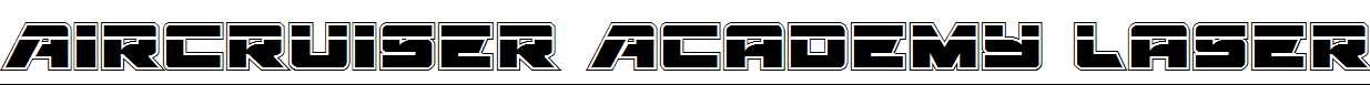 Aircruiser-Academy-Laser-Regular