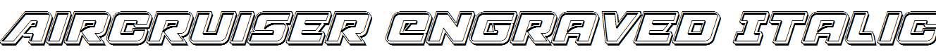 Aircruiser-Engraved-Italic