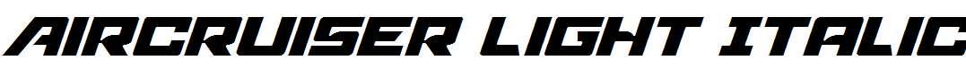 Aircruiser-Light-Italic