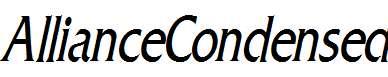AllianceCondensed-Italic