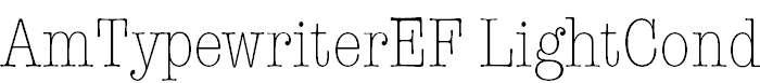 AmTypewriterEF-LightCond