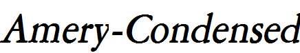 Amery-Condensed-Bold-Italic
