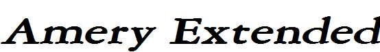 Amery-Extended-BoldItalic