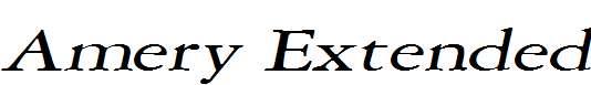 Amery-Extended-Italic