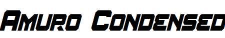 Amuro-Condensed-Bold-Italic