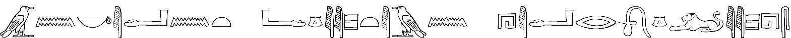 AncientEgyptianHieroglyphs