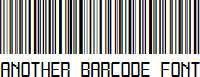 Another-barcode-font
