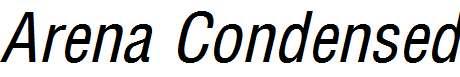 Arena-Condensed-Italic
