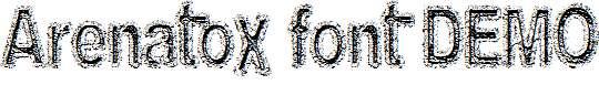 Arenatox-font-DEMO