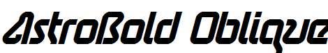AstroBold-Oblique