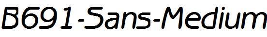 B691-Sans-Medium-Italic