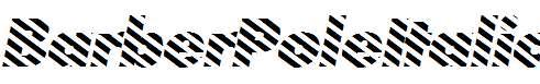 BarberPoleItalic-Italic