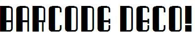 Barcode-Deco!-Regular