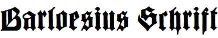 BarloesiusSchrift