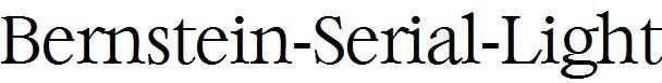 Bernstein-Serial-Light-Regular