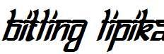 Bitling-lipika-Bold-Italic