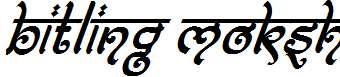Bitling-moksh-Italic