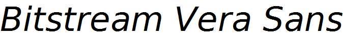Bitstream-Vera-Sans-Oblique