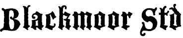 BlackmoorStd