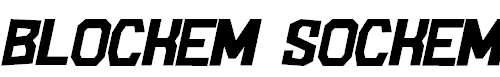 BlockemSockem-Italic