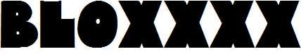 Bloxxxx-ExtraBold