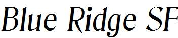 Blue-Ridge-SF-Italic