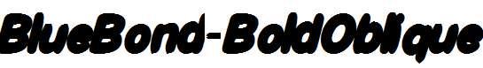 BlueBond-BoldOblique-Bold-Oblique