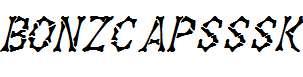 BonzCapsSSK-Italic