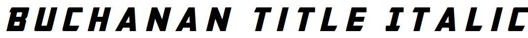 Buchanan-Title-Italic