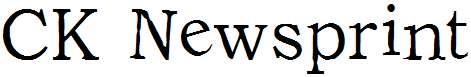 CK-Newsprint