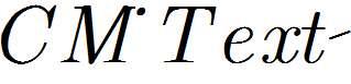 CM_Text-Italic
