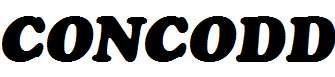 CONCODD-Regular