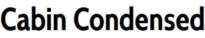 Cabin-Condensed-Bold