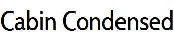 CabinCondensed-Regular
