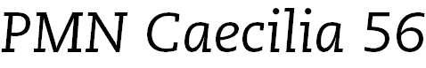 Caecilia-Italic