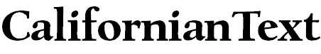 CalifornianText-Bold